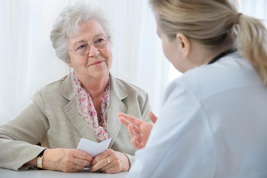 pacjent u doktora