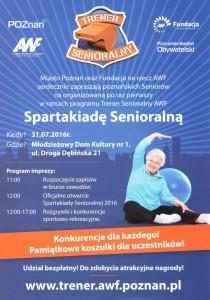 Spartakiada Trenera Seniorlanego AWF