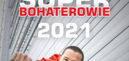Kalendarz Wielkopolskiego Centrum Onkologii Superbohaterowie 2021