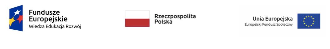 Fundusze Europejskie logo, Polska flaga, Unia Europejska flaga